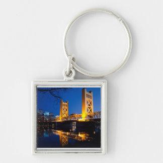 Tower Bridge - Sacramento, CA Key Chain