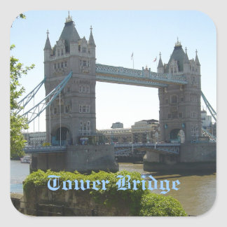 Tower Bridge Square Sticker