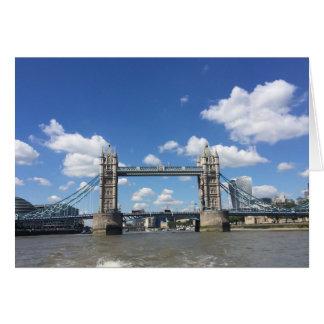 Tower Bridge Thames River London England UK Photo Card