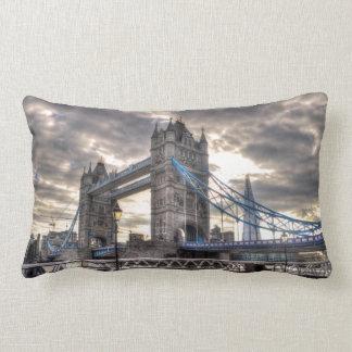 Tower Bridge & The Shard, London, England Lumbar Pillow