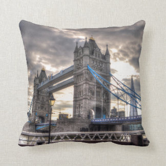 Tower Bridge & The Shard, London, England Throw Pillow