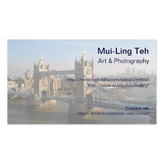 Tower Bridge Trading Card Business Cards
