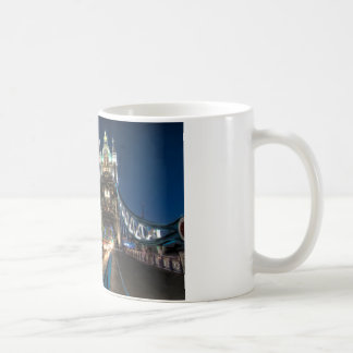 Tower Bridge traffic, London Coffee Mug