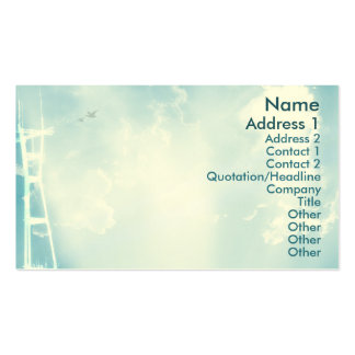 Tower - Business Business Card Templates