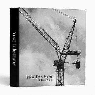 Tower Crane 1 0in Vinyl Binders