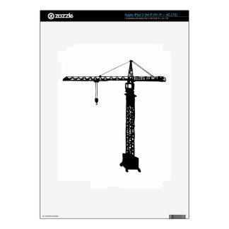 tower crane grue decals for iPad 3