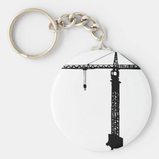 tower crane grue keychain