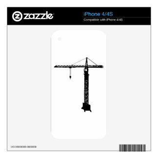 tower crane grue skins for the iPhone 4S