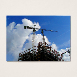 Tower Cranes, Mini Photo Business Card