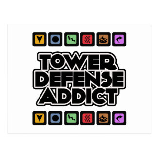 Tower Defense Addict Post Card