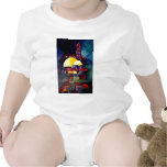 Tower Dome of Rock Baby Bodysuits