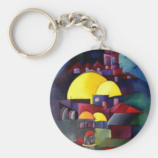 Tower Dome of Rock Keychain
