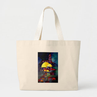 Tower Dome of Rock Large Tote Bag