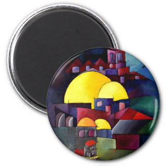 Tower Dome of Rock Magnet
