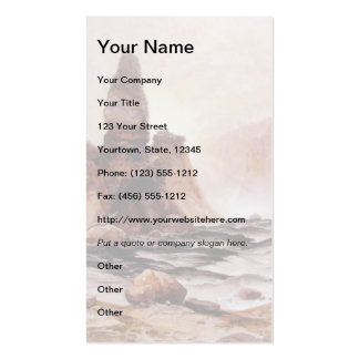 Tower Falls at Yellowstone - 1876 Business Card Template