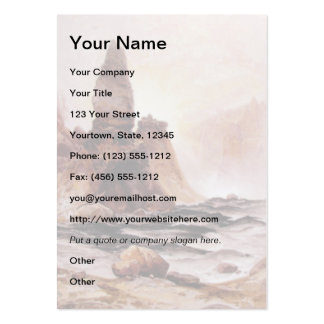Tower Falls at Yellowstone - 1876 Business Card