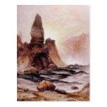 Tower Falls at Yellowstone - 1876 Postcard
