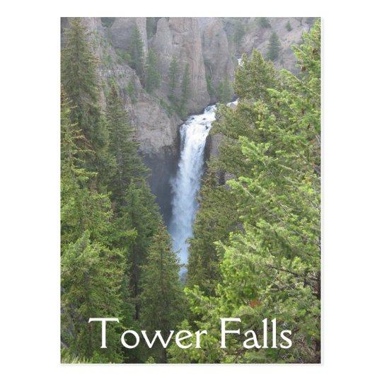 Tower Falls Postcard