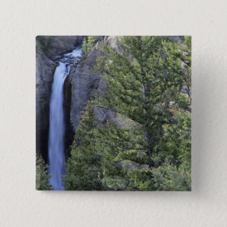 Tower Falls, Yellowstone National Park, Wyoming Button