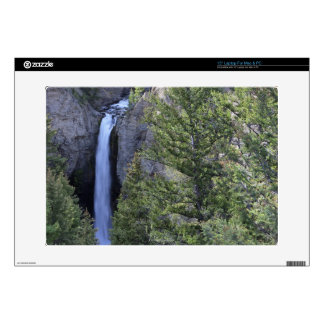 Tower Falls, Yellowstone National Park, Wyoming Laptop Decals
