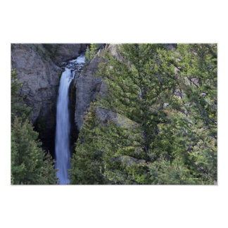 Tower Falls, Yellowstone National Park, Wyoming Poster