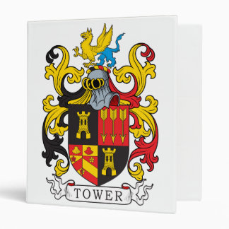 Tower Family Crest Binder