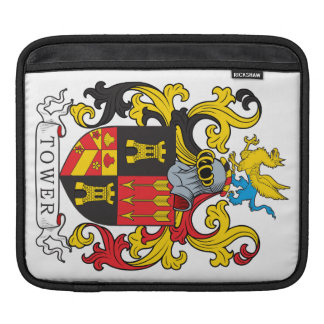 Tower Family Crest Sleeve For iPads