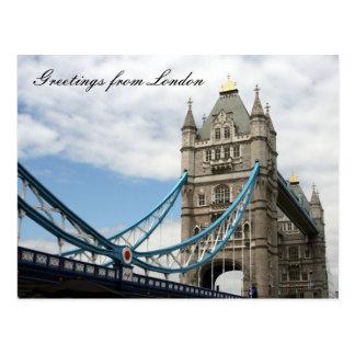 tower greetings postcard