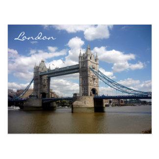 tower greetings view london postcard