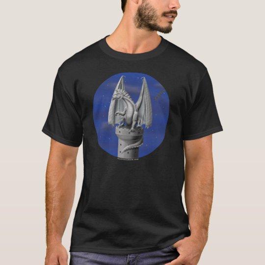 Tower Guardian - Silver Dragon T-Shirt