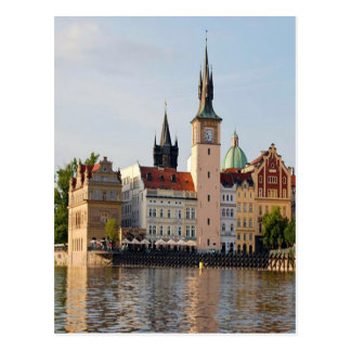 Tower In Prague Postcard
