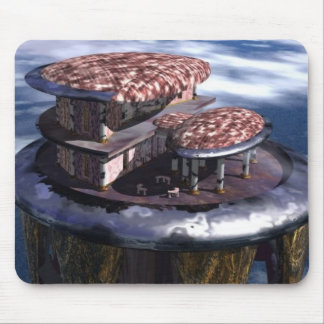 Tower in the Sky Mouse Pad