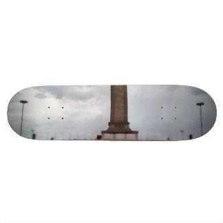 Tower in Tianmen Square in Beijing Skateboard Deck