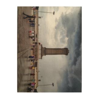 Tower in Tianmen Square in Beijing Wood Print