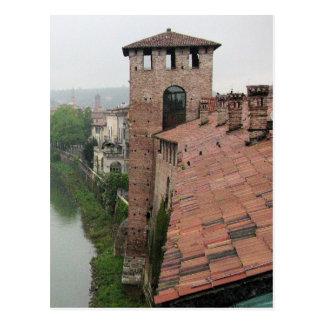 Tower in Verona, Italy Postcard