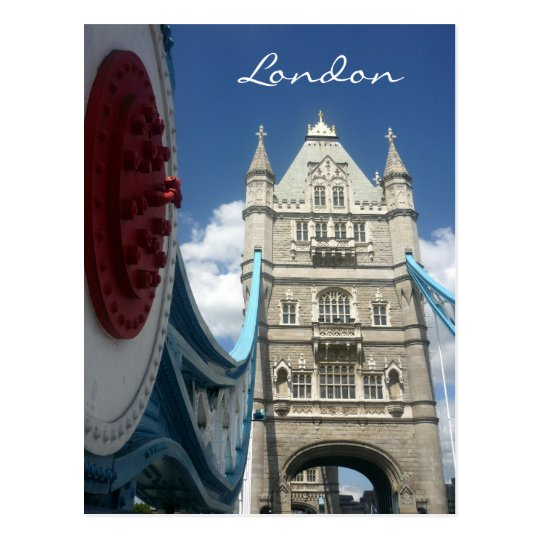 tower london bridge postcard