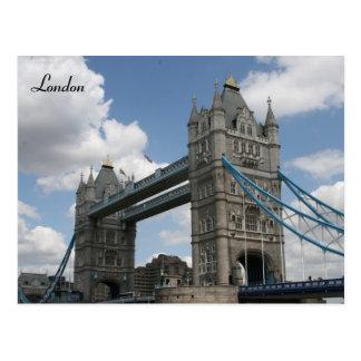 tower london postcard