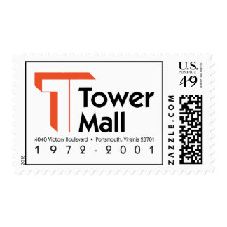 Tower Mall 1972-2001 Postage Stamp