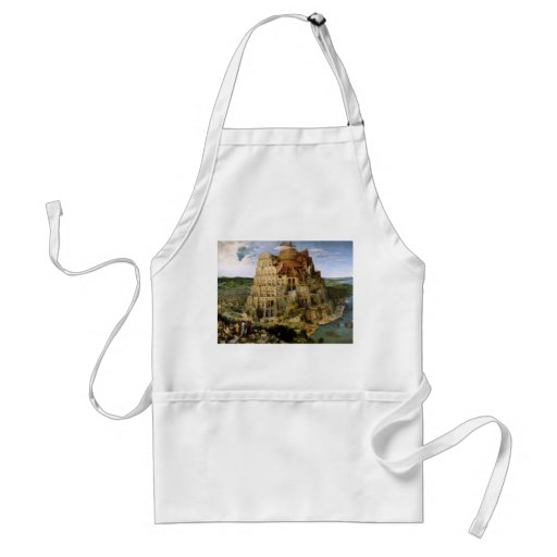 Tower of Babel - 1563 Adult Apron