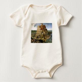 Tower of Babel - 1563 Baby Bodysuit