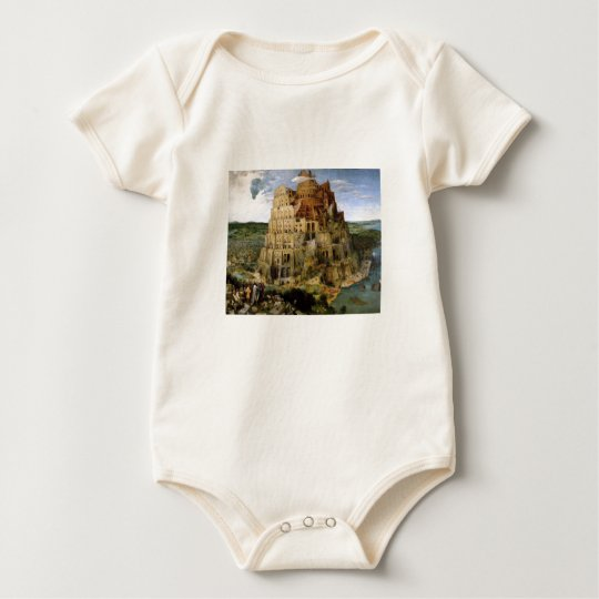 Tower of Babel - 1563 Baby Bodysuit