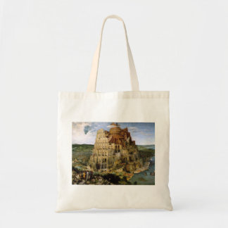 Tower of Babel - 1563 Tote Bags