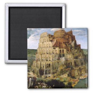 Tower of Babel - 1563 Magnet