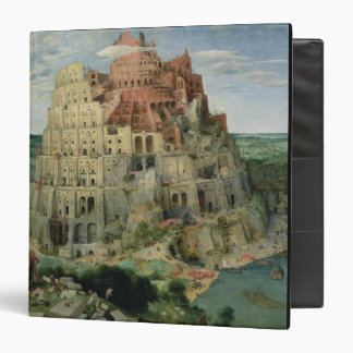 Tower of Babel, 1563 (oil on panel) Binder