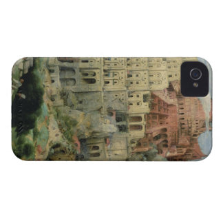 Tower of Babel, 1563 (oil on panel) iPhone 4 Covers