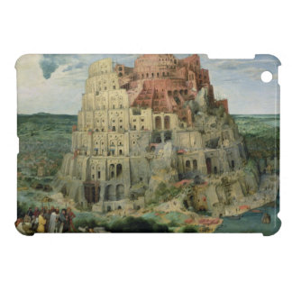 Tower of Babel, 1563 (oil on panel) Cover For The iPad Mini