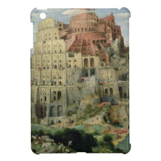 Tower of Babel, 1563 (oil on panel) iPad Mini Cases