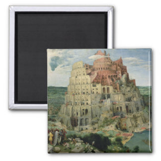 Tower of Babel, 1563 (oil on panel) Magnet