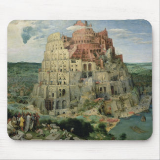 Tower of Babel, 1563 (oil on panel) Mouse Pad