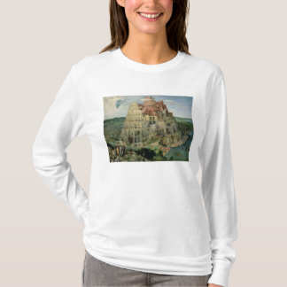 Tower of Babel, 1563 (oil on panel) T-Shirt